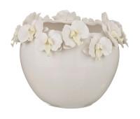 Орхидеи Белый ваза 23см