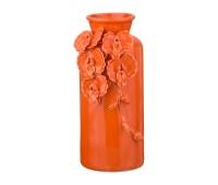 Орхидеи Оранж ваза для цветов 25см