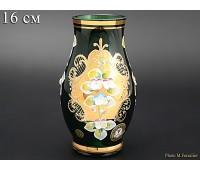 Зеленая Лепка E-V ваза для цветов 16см