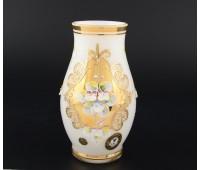 Белая Лепка E-V ваза для цветов 16см