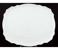 Бернадот Белый  Поднос прямоугольный 40см