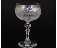 Хрусталь Снежинка Glasspo набор креманок 200мл 6 штук