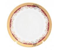 Кристина Красная набор тарелок 19см 6шт