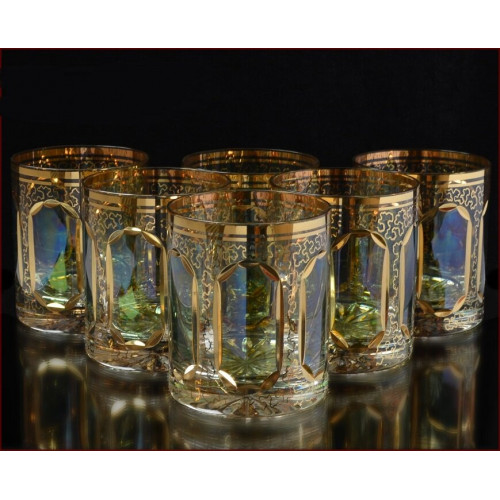 Аурум Изумруд набор стаканов 350мл 6штук