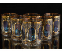 Хрусталь  Топаз набор стаканов 350 мл 6 штук