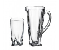 Квадро набор кувшин и 6 стаканов