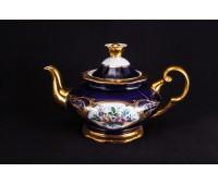 АГ 855 Кобальт Полевые Цветы чайник заварочный 600мл