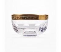 Джесси Золото ваза для варенья без ножки 12см