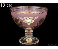 U-R Розовая Лепка ваза для конфет 13см