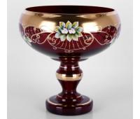 Красная Лепка ваза для варенья 6333  15см