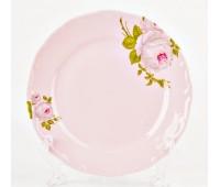 """Веймар """"Алвин Розовый"""" набор тарелок 19см закусочных 6 штук"""