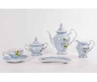 """Веймар """"Алвин Голубой"""" сервиз чайный на 6 персон 16 предметов"""