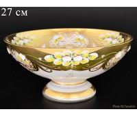 Белая Лепка E-V ваза для фруктов 27см