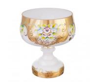 Белая Лепка E-V ваза для конфет 18 см