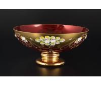 Красная Лепка E-V ваза для фруктов 27см