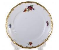 """Веймар """"1042 Мейсенский Букет"""" набор тарелок из 6ти штук 22 см закусочных"""