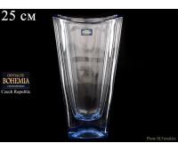 "Стекло ""Окинава"" ваза для цветов 25см синяя"