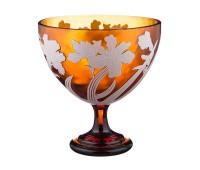 Цветы Голд ваза для конфет 30см, диаметр 27см