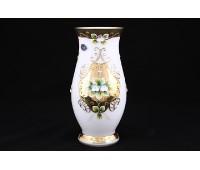 Белая Лепка ваза для цветов Пител 8304 25см