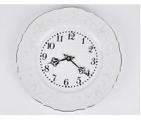 Бернадот 2021 Платина часы настенные