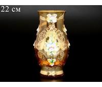 Лепка Янтарная Смальта ваза для цветов 22см
