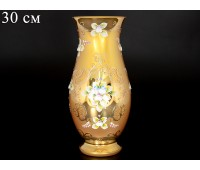 Лепка Золотая Смальта ваза для цветов 30см