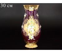 Лепка Фиолетовая Смальта ваза для цветов 30см