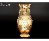 Лепка Янтарная Смальта ваза для цветов 30см