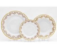 Бавария Порселан Мария 202 набор тарелок из 18ти штук
