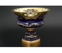 Синяя Лепка E-V ваза для конфет 20см