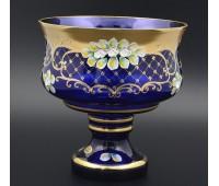 Синяя Лепка B-L ваза для фруктов 28см