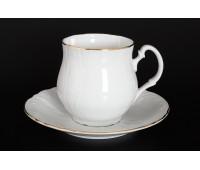 Бернадот Белый Набор 6 чашек / 6 блюдец 310мл Джонас