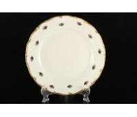 АГ 851 Полевой Цветок Слоновая Кость набор тарелок 21см 6штук
