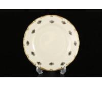 АГ 851 Полевой Цветок Слоновая Кость набор тарелок 17см 6штук