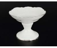 Бернадот 2021 Платина ваза на ножке 19см