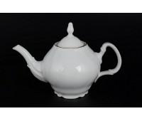 Бернадот Белый  чайник заварочный 1,2л