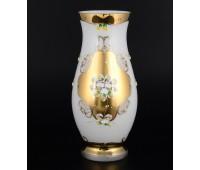 Белая Лепка ваза для цветов 30см