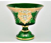 Зеленая Лепка S-A ваза для конфет 21см
