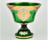 Зеленая Лепка S-A ваза для фруктов 26см