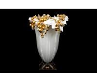 Cevik Group Виноград Белая ваза для цветов