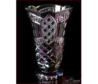 Цветной Хрусталь Аметист ваза для цветов 31см