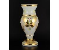 Белая Лепка E-V ваза для цветов 50см
