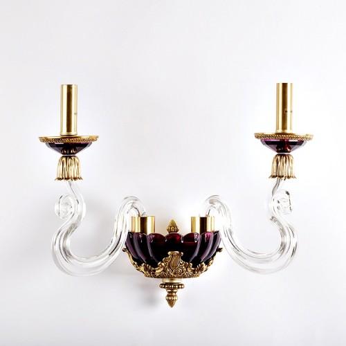 Евролюче бра на 2 свечи