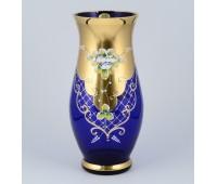 Синяя Лепка B-L  ваза для цветов 30см