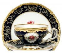 """Веймар """"Санкт Петербург 866"""" набор 6 чашек 160мл с блюдцами в подарочной упаковке"""