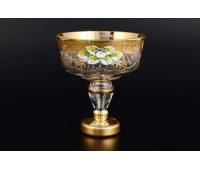 Лепка Золотая Стар ваза для варенья 13см