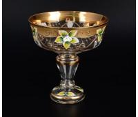 Лепка Золотая Стар ваза для конфет 16см