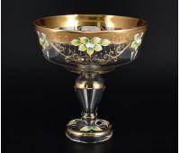 Лепка Золотая Стар ваза для фруктов 26см