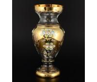 Лепка Золотая Богатая ваза для цветов 30см