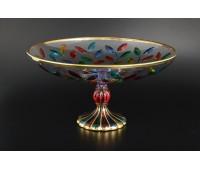 Лаурус Цветной ваза для фруктов 33см